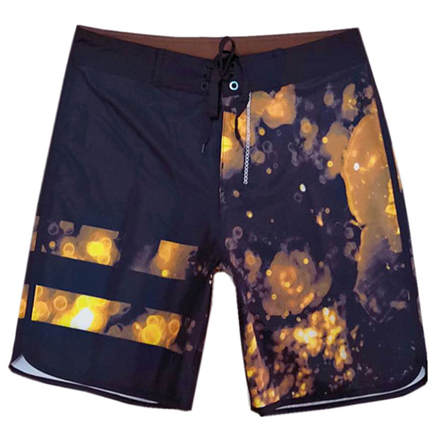Wholesale Navy Ground Halo Printed Men's Trunk
