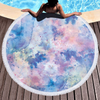 Custom Marble Quickly Dry Round Printed larger mixed colors Microfiber Beach Towel 2020