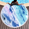 Best Selling Quickly Dry Round Printed Colorful Microfiber Beach Towel in Summer